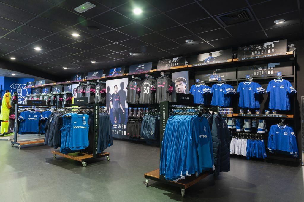 Everton 2018/19 Kit Launch