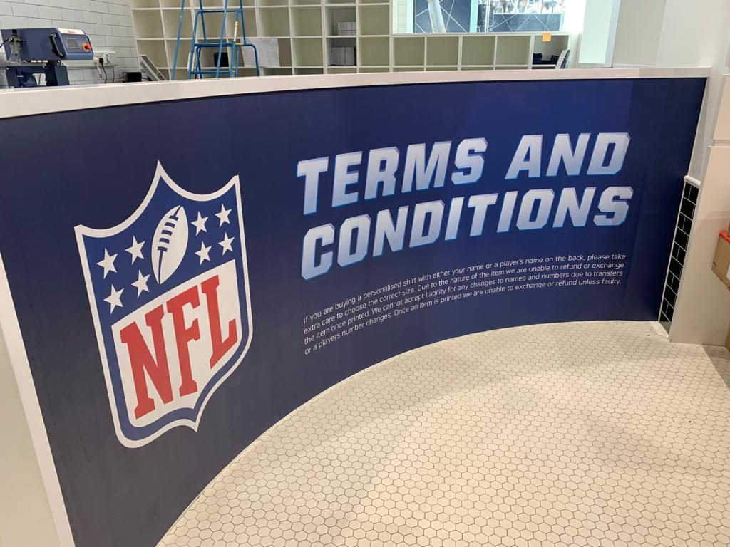 NFL Merchandise Store